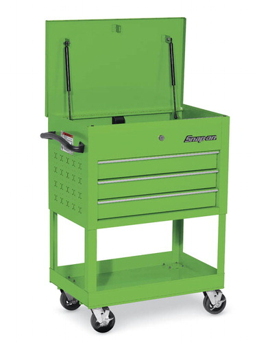 Roll Cart 3 Drawers Extreme Green