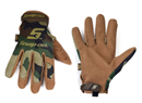 Woodland Camo Mechanic's Gloves