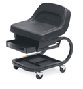 Bucket Seat Creepers with Drawer