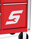 Magnetic S Logo Drawer Front