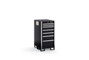 "KSNC071AA Series 7-Drawer Narrow Counter Stationary Storage (22-1/2"")"