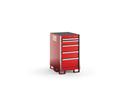 "KSNT051AA Series 5-Drawer Narrow Tall Bench Stationary Storage (22-1/2"")"