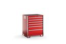 "KSPC061AA Series 6-Drawer Standard Plus Counter Stationary Storage (35-5/8"")"
