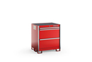 "KSPT031AA Series 3-Drawer Standard Plus Tall Bench Stationary Storage (35-5/8"")"