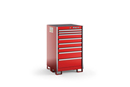 All standing counter height stationary storage