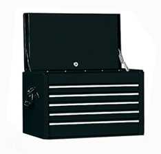 Top Chest Drawers Gloss Black - Black gloss chest of drawers