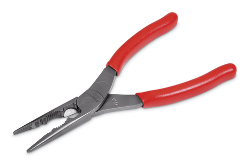 8 Quot Talon Grip Long Nose Pliers With Cutter And Fastener