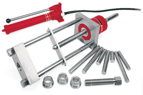 Hydraulic King Pin Puller : Ton capacity hydraulic