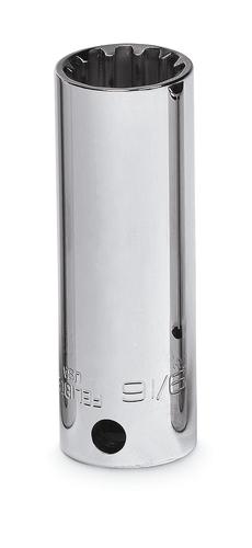 3 8 Drive SAE 18 9 16 Hex Deep Spline Socket