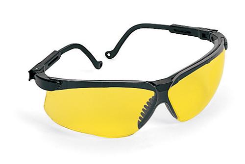 Frame Changers Glasses : Glasses, Safety, Black Frame/Amber Lens
