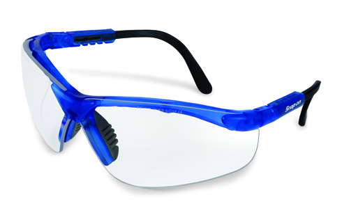 Eyeglass Frame Paint Repair : Glasses, Safety, Blue Frame/Clear Lens