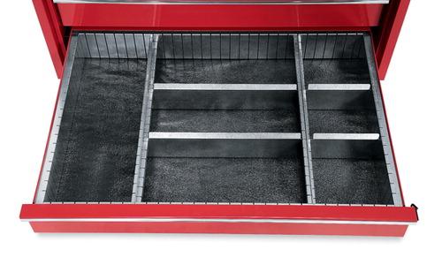 toolbox ii rolling drawer divider organizers two rails deeprail drawers tbdd tool box