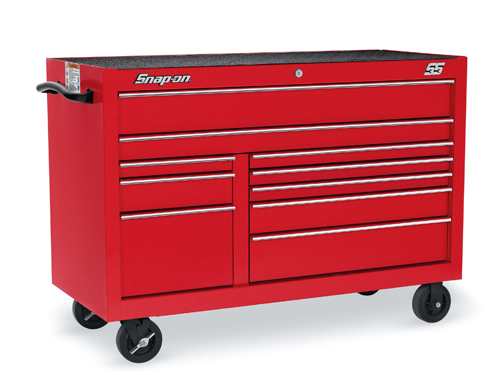 54 10 Drawer Double Bank Classic Series Roll Cab