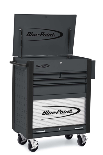 32 Quot 4 Drawer W Bulk Storage Shop Cart Blue Point 174