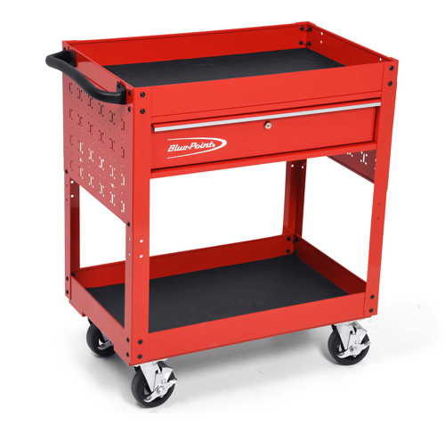 Heavy Duty One Drawer Two Tray Cart Blue Point 174
