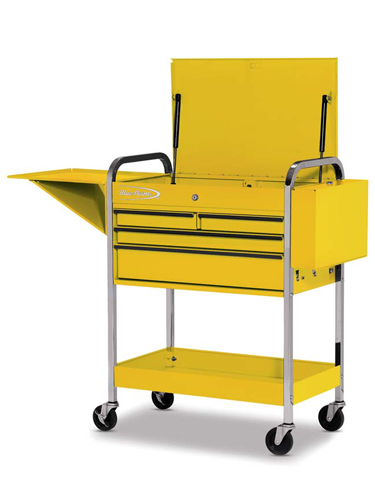Roll Cart 4 Drawers With Lid Rack And Shelf Ultra