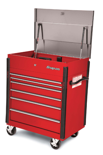 36 6 Drawer Heavy Duty Stainless Steel Top Shop Cart