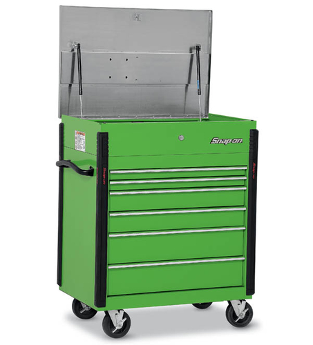 Roll Cart Heavy Duty Stainless Steel Lid 6 Drawers