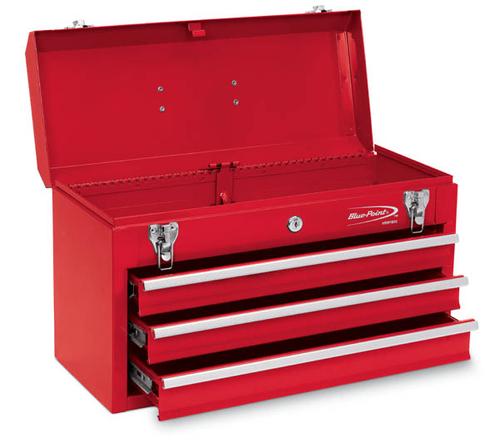 Waterloo Professional 3 Drawer Intermediate Tool Chest With Internal Tubular Keyed Locking System