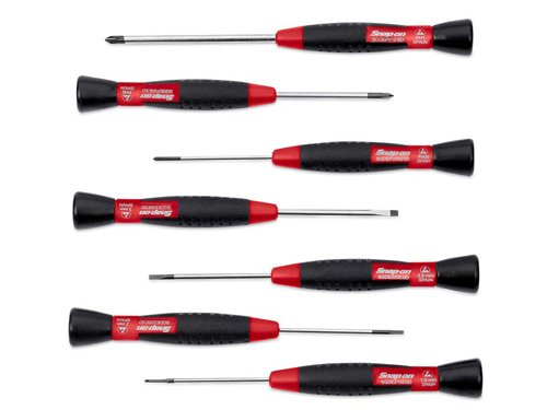 7 pc electronic miniature screwdriver set