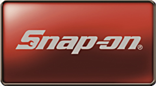 """Decal, Snap-on® Logo, 23"""" x 4"""", Silver"""