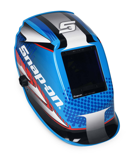 Race Blue Welding Helmet